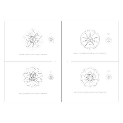 Intuitive Geometry Flowers package - how to draw a 5 fold flowers with overlapping circles
