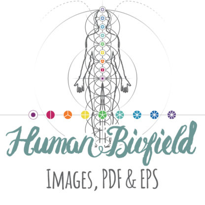 Intuitive Geometry Human Biofield images pdf and eps