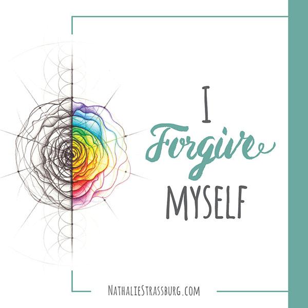 I forgive myself by Nathalie Strassburg
