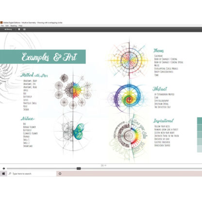 Intuitive Geometry - Drawing with overlapping circles E-Book by Nathalie Strassburg - Preview