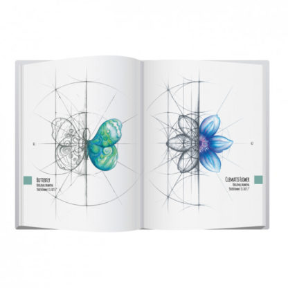 Intuitive Geometry - Drawing with overlapping circles Book by Nathalie Strassburg interior preview