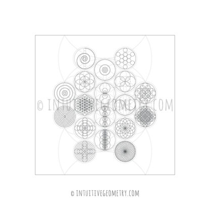 Intuitive Geometry Circle Models image pdf and eps