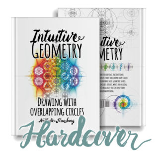 Intuitive Geometry - Drawing with overlapping circles hardcover Book by Nathalie Strassburg