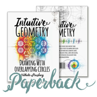 Intuitive Geometry - Drawing with overlapping circles paperback Book by Nathalie Strassburg