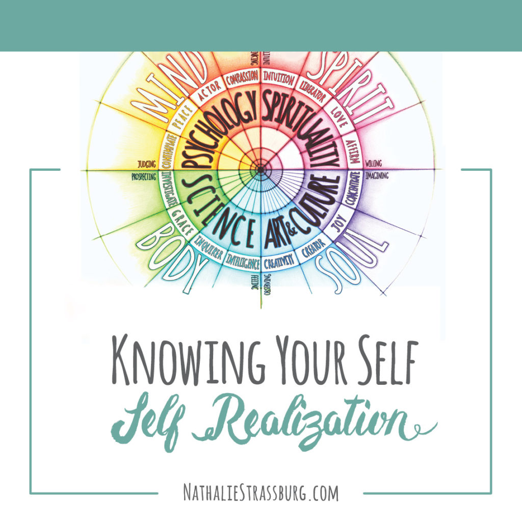 Knwoing yourself Self Realization by Nathalie Strassburg