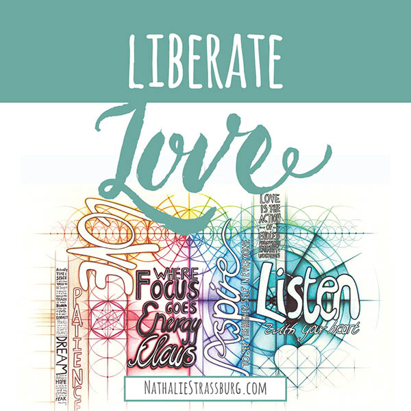 Liberate love by Nathalie Strassburg