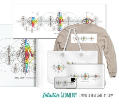 Nathalie Strassburg Intuitive Geometry Human Anatomy Series Art Prints and Products
