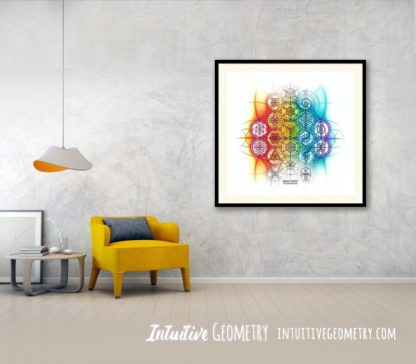 Nathalie Strassburg Original Intuitive Geometry Overlapping Circle Models Art Prints