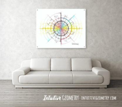 Nathalie Strassburg Original Intuitive Geometry Time Art Prints