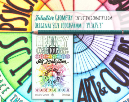 Nathalie Strassburg Original Intuitive Geometry Unify Consciousness Self Realization Art