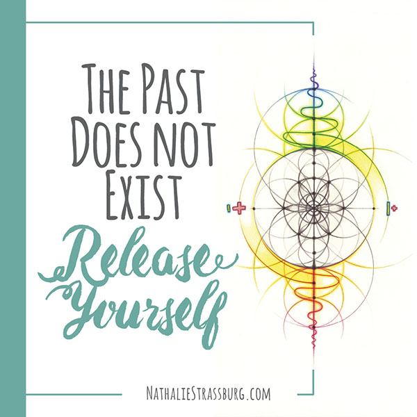 The past does not exist Release Yourself by Nathalie Strassburg