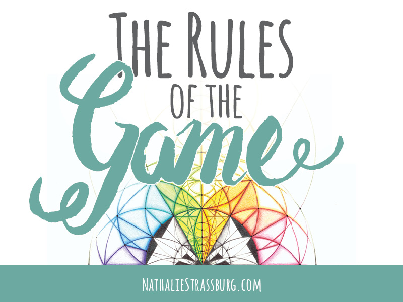 The rules of the game by Nathalie Strassburg