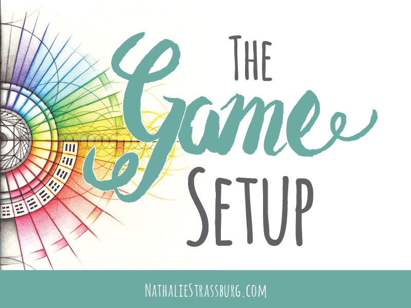 The Game Setup by Nathalie Strassburg