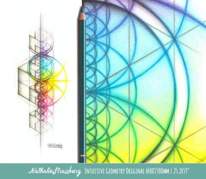 Nathalie Strassburg Intuitive Geometry Spectrum Aspire Art Life Size
