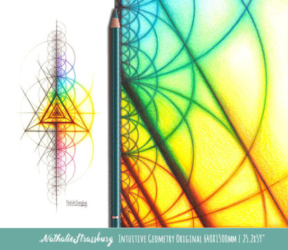 Nathalie Strassburg Intuitive Geometry Spectrum Triangle Tetrahedron Art life size